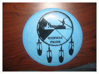 Custom Disc Golf Stencil