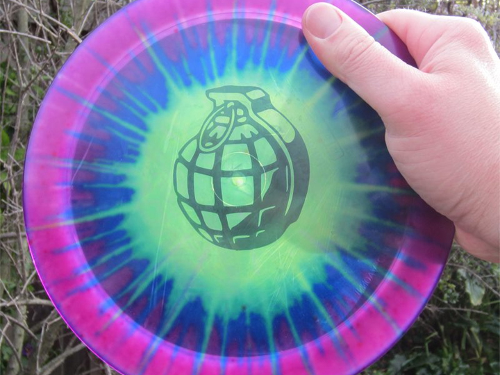 Custom Disc Golf Dyes Stock Stencils Disc Golf Dyes